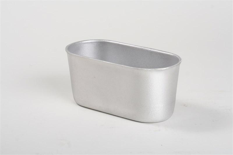 Форма для выпечки хлеба Л-7 ст. овальная (230х110х105) - фото 4736