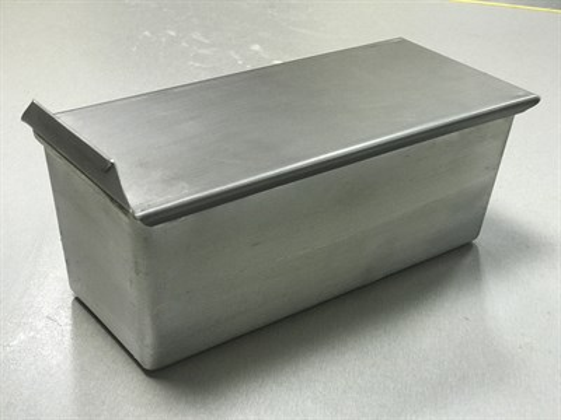 Тостерная форма для выпечки хлеба с крышкой 285х110х95 - фото 4820