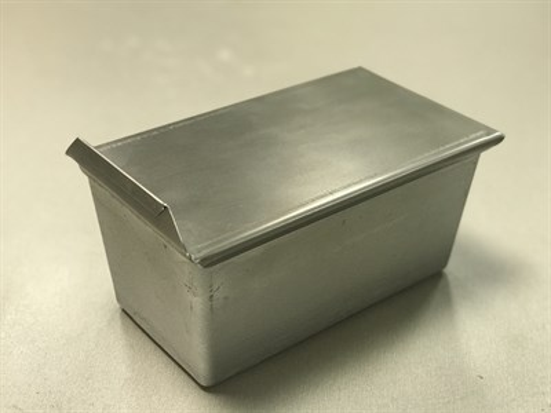 Тостерная форма для выпечки хлеба с крышкой 200х100х90 - фото 4834