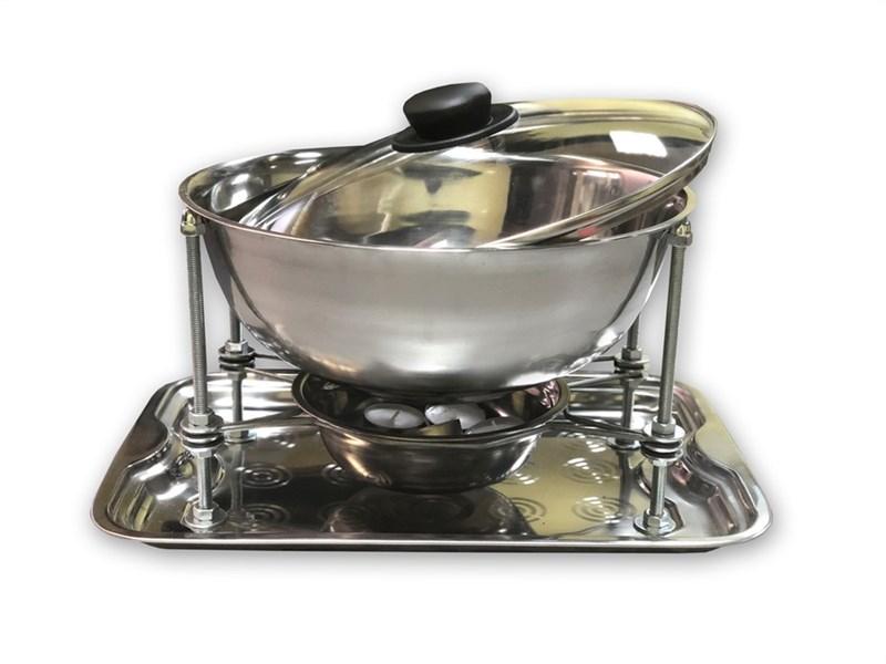 Садж-мармит настольный с подогревом (4 литра) - фото 4933