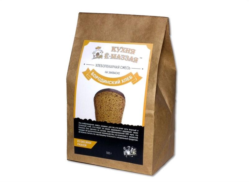 Набор для выпечки: Бородинский хлеб на закваске, пакет 0,5 кг - фото 5440