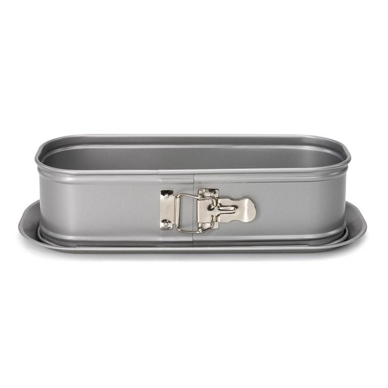 Форма для выпечки овальная Pаtisse Silver 30х11х9 см - фото 5666