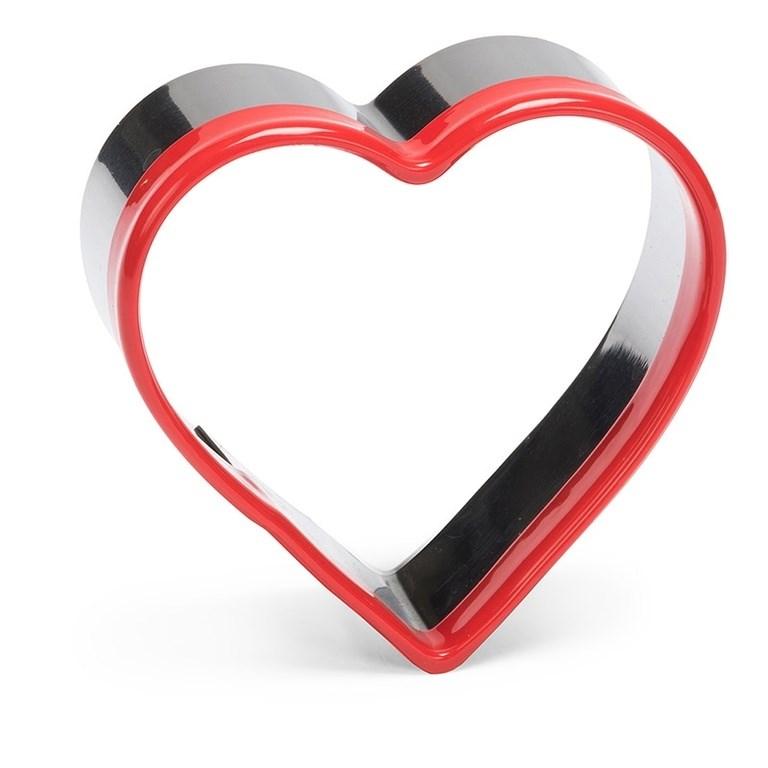 """Форма-вырубка для печенья """"Сердце"""" 6х6 см - фото 5776"""