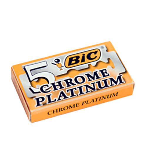 Набор сменных лезвий BiC Chrome Platinum (5 шт) - фото 5959