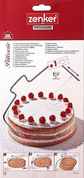 Нож-струна кулинарный Fackelmann Zenker - фото 5980