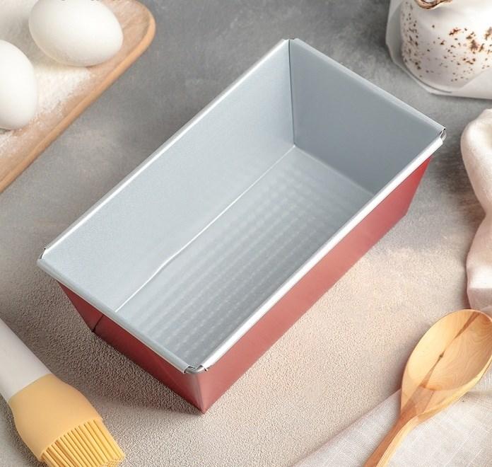 Форма для выпечки хлеба 21х11.5х7.5 см - фото 7012