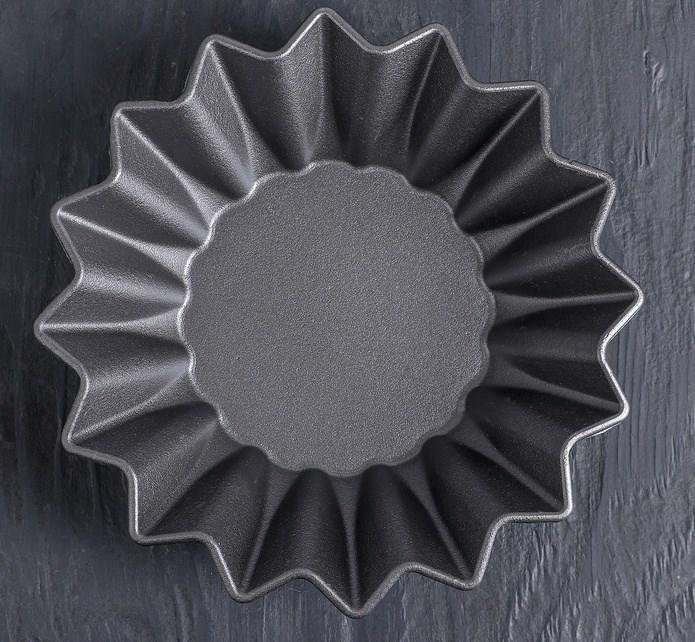 Форма для выпечки кекса чугунная 21х5 см - фото 7018