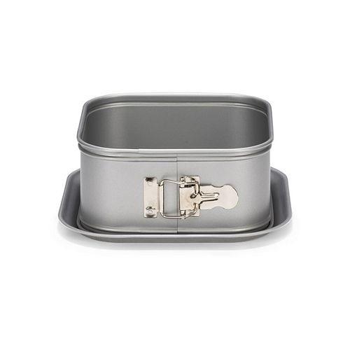 Форма для выпечки разъемная квадратная Patisse Silver 18х18х8 см - фото 7061