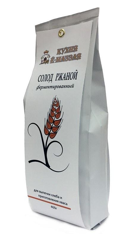 Солод ржаной ферментированный, 400 грамм - фото 7102