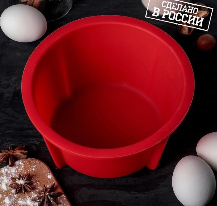 Форма для выпечки хлеба силиконовая ХОРС 18х9 см - фото 7112