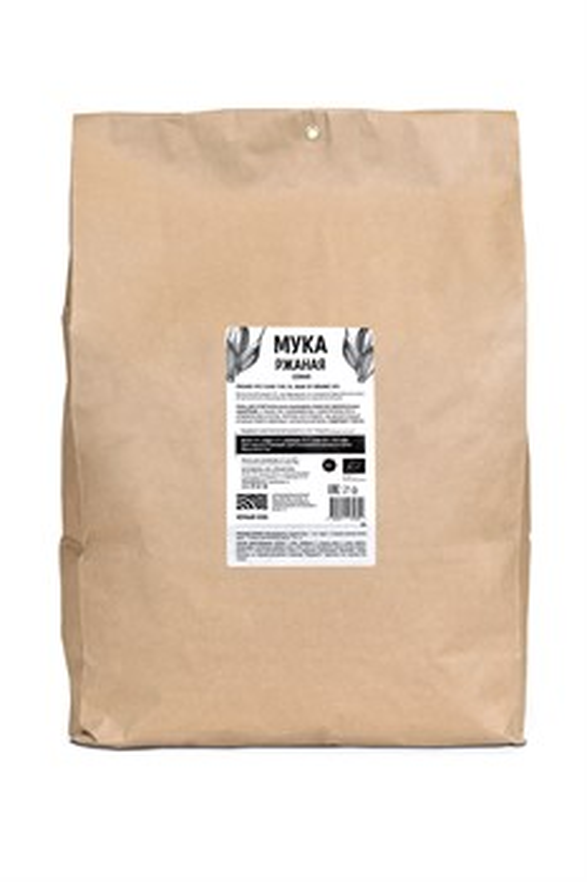 Мука ржаная сеяная БИО, пакет 5 кг - фото 7180