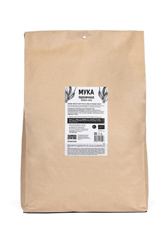 Мука пшеничная первого сорта БИО, пакет 5 кг - фото 7183