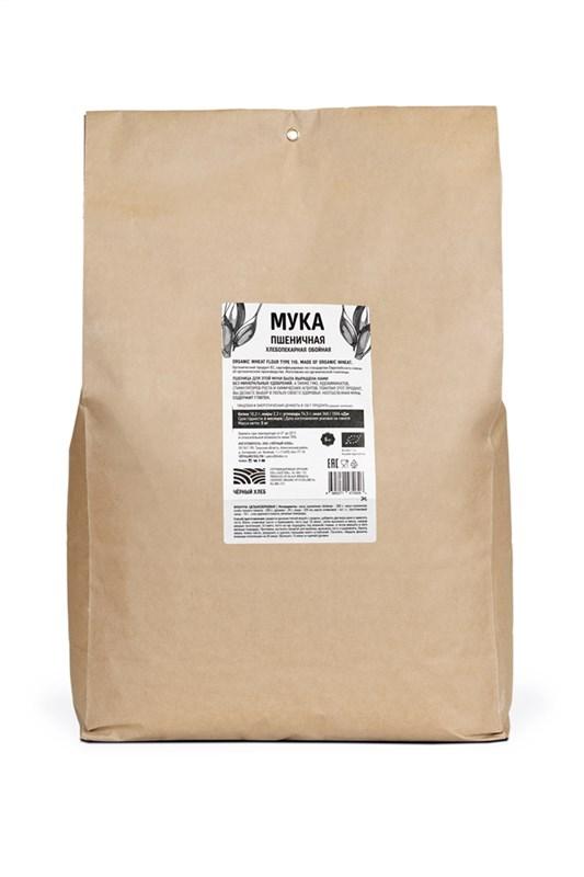 Мука пшеничная обойная БИО, пакет 5 кг - фото 7184