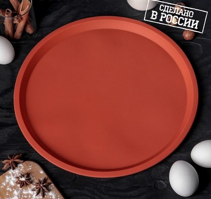 Форма для пиццы силиконовая ХОРС 30х2 см - фото 7356