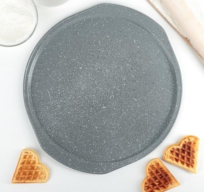 Форма для выпечки пиццы 33х1.5 см - фото 7357