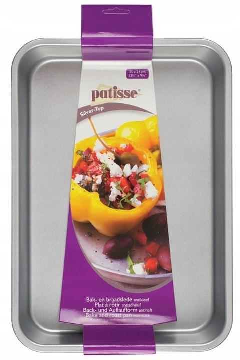 Форма для выпечки Patisse Silver 35х24х4.5 см - фото 7378