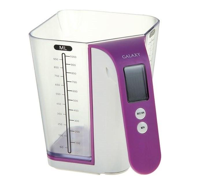 Весы кухонные электронные Galaxy, до 2 кг. - фото 7382
