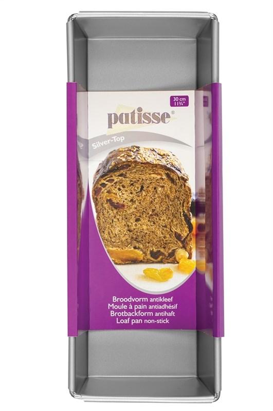 Форма хлебопекарная Patisse Silver 30х12х9 см - фото 7454
