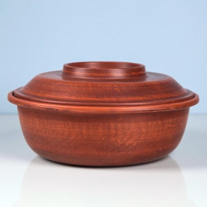 Форма для выпечки керамическая с крышкой 22х7.5 см - фото 7634
