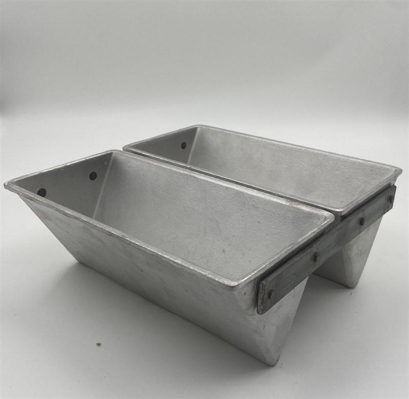 Форма для выпечки хлеба треугольная 225х110х90 мм. 2-х секционая - фото 7733