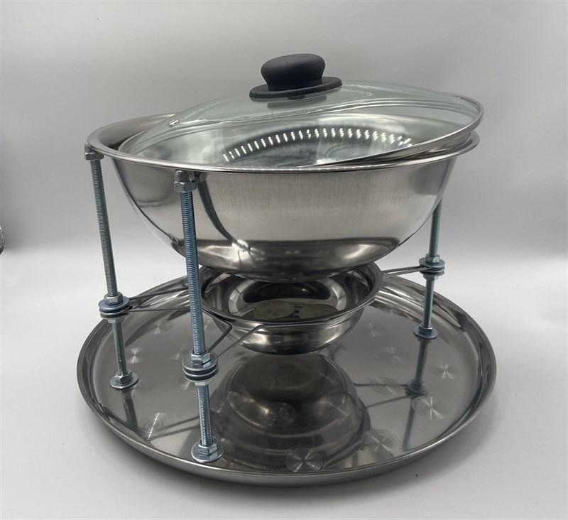 Садж-мармит настольный с подогревом (4.5 литра) - фото 7769