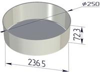 Форма для выпечки хлеба 250х237х73 мм