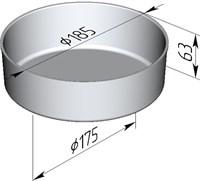 Форма для выпечки хлеба 185х175х63 мм