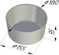 Форма для выпечки хлеба 180х155х95 мм