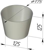 Форма для выпечки хлеба 175х125х125 мм