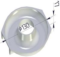 Форма для выпечки Бублик круглая 130х120х20 мм
