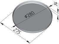 Форма для пиццы 280х14 мм