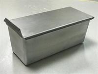 Тостерная форма для выпечки хлеба c крышкой 250х100х100