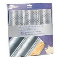 Форма для выпечки багетов 3-х секционная Patisse Silver 26х24 см