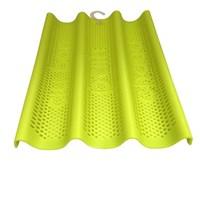 Форма для выпечки багетов силиконовая 3-х секционная 35х25 см