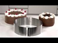 Регулируемая по диаметру форма для торта Tescoma 16-30 см
