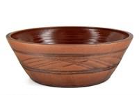 Керамическая форма для выпечки хлеба глазурированная 27х9 см