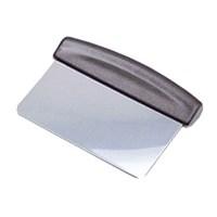 Скребок для теста металлический 15х12 см