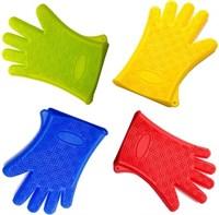 Прихватка-перчатка силиконовая 27х18 см