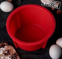 Форма для выпечки хлеба силиконовая ХОРС 18х9 см