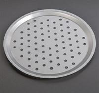Форма для выпечки пиццы нержавеющая сталь перфорированная 34 cм
