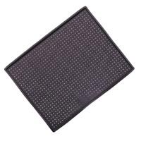 Коврик силиконовый прямоугольный перфорированный с бортиками 40х31х1 см