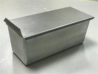 Тостерная форма для выпечки хлеба с крышкой 300х120х120 мм