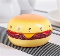 """Кухонный таймер механический """"Гамбургер"""""""
