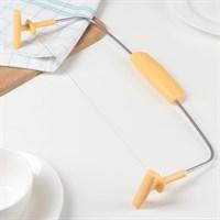 Нож-струна для нарезки бисквитов 31х14 см