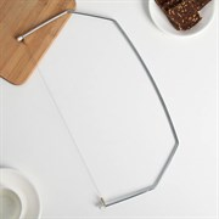 Нож-струна для нарезки бисквитов 42×20 см