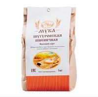 Мука пшеничная высшего сорта из Шугуровского зерна, пакет 1 кг